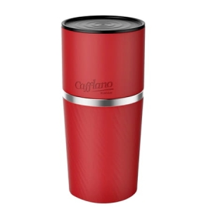 Cafflano Klassic All-In-One Coffee Maker Red